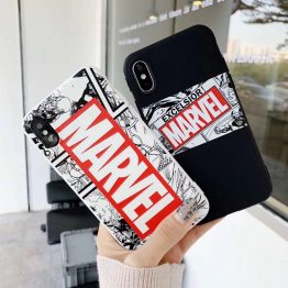 Cool-Male-Marvel-Avengers-Tiger-candy-Phone-Case-For-iPhone-8-7-6-6s-Plus-X-0
