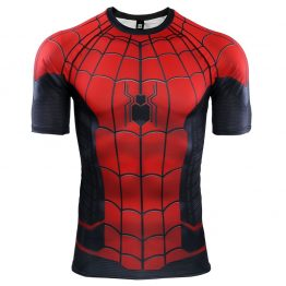 1_Spider-Man-Far-From-Home-3D-Printed-T-shirts-Men-Compression-Shirts-Raglan-Sleeve-2019-Short
